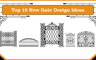 Modern Front Gate Design Ideas for Home In 2021
