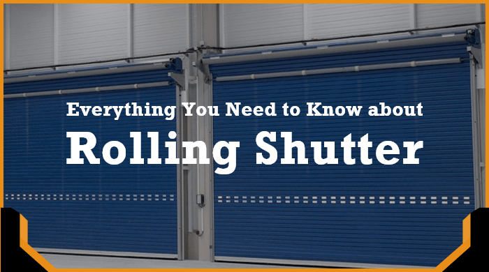Know everything about rolling shutter